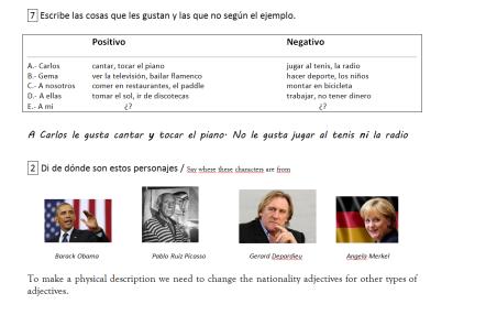 21 Spanish! excerpts